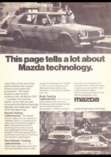 "1978 MAZDA 323 HATCH A3 CANVAS PRINT POSTER 16.5""x11.7"""