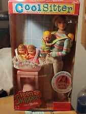 Cool Sitter Teen Skipper Doll with Quadruplets! (Sister of Barbie) (New)