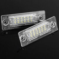 2Pc18 LED Error Free Number License Plate Light fr VW Golf Jetta Caddy Touran T5