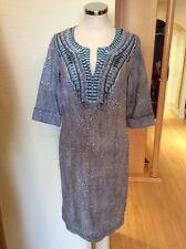 Olsen Tunic Dress Size 18 BNWT Taupe Cream Linen RRP £119 Now £48