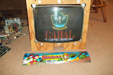 Cabal Arcade Jamma PCB Board w/ Marquee & Harness Tested and Working