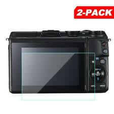 2x Tempered Glass Screen Protector for Canon EOS M3 M10 100D Rebel SL1 Camera