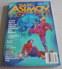 ISAAC ASIMOV SCIENCE FICTION MAGAZINE N°13..Ed US..STANWICK..MACLEAD..STEELE