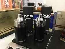 2 Rare Perfume Paco Rabanne for women and men 3.4 oz 100ml EDT Spray 1995 Black