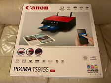 Canon Pixma TS9155 Wireless WiFi Printer Red All in One 6 inks