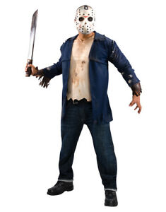 """Friday the 13th Costume, Mens Jason Voorhees Costume Style 3, Standard,CHEST 44"""""""