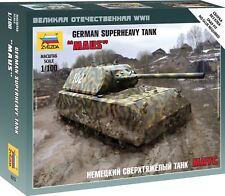 Zvezda 1/100 German MAUS Super Heavy Tank Z6213
