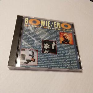 DAVID BOWIE BRIAN ENO Rykodisc Sampler Promo CD 9 Tracks