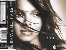 cd-single, Janet Jackson - Just A Little While, 3 Tracks, Australia