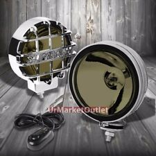 "6"" Round Chrome Body Housing Smoked Fog Light/Super 4x4 Offroad Guard Work Lamp"