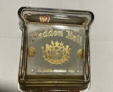 "Antique Vintage 1930's Haddon Hall Cigar Holder. Heavy Glass. Base  6"" X 7"""