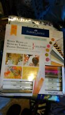 Faber Castell Mixed Media with Gelatos 25 Piece Kit