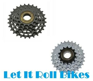NEW 7-SPEED MULTIPLE FREEWHEELS 14/28T and 13/28T SUNRACE BICYCLE BIKES CYCLING