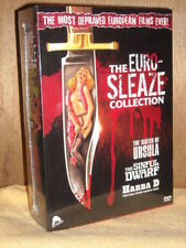 The Euro-Sleaze Collection Sister of Ursula/Sinful Dwarf/Hanna D (DVD, 2012) NEW