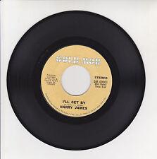 Harry JAMES Vinyl 45T 7 SP CIRIBIRIBIN - I'LL GET BY Jazz GLD MOR 01 U.S.A. RARE