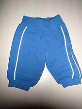 Esprit tolle Sweat Hose Gr. 56 blau mit seitlichen weißen Streifen !!
