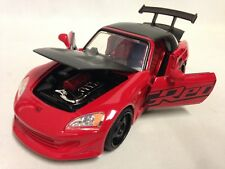 "2001 Honda S2000 JDM TURERS Collectible 8.5"" Diecast 1:24 Scale Jada Toys Red"