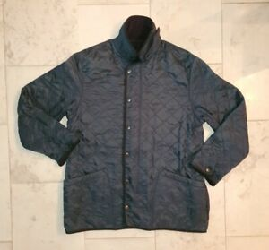 Barbour Polarquilt Unisex Jacke dunkelblau Größe L