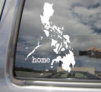 Philippines Home Islands Country Filipino Car Vinyl Die-Cut Decal Sticker 07105