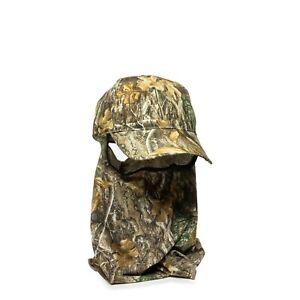 Realtree Edge Camouflage Men's Hunting Fishing Facemask Baseball Hat NWT OSFM