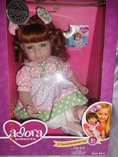 "Adora Charisma  20"" Baby Doll  Brunette Hair, Blue Eyes"