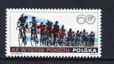 POLAND MNH 1967 SG1739 20TH INT PEACE CYCLE RACE