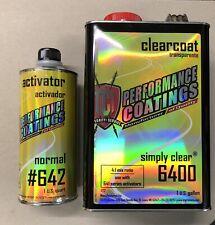 High Gloss Urethane Gallon Clear Coat Kit 4:1 w/t Medium Activator