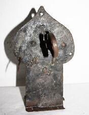 Truhenschloss 2, Eisen, Barockschloss, mit Schlüssel
