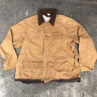Vintage Red Head  Duck Hunting Canvas Jacket Coat Mens Extra Large