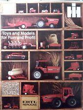 Ertl International Ih Farm Pedal Amp Garden Tractor Color Sales Brochure Manual 83