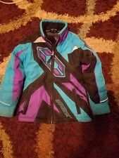 Purple xs girls castle jacket