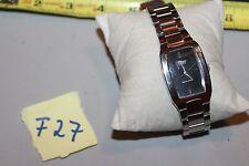 Casio MTP1165 Men's Black Dial Stainless Steel Analog Dress Watch F22
