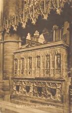 uk31987 tomb of edward westminster abbey london real photo uk