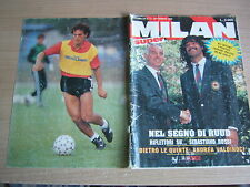 MILAN SUPER=N°13 9/1990=NO POSTER=RUUD GULLIT=GIANNI RIVERA