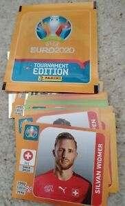 Panini Euro 2020 Tournament Edition Stickers - Choose any 10 from list