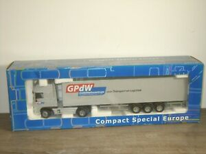Daf 95 XF Truck & Trailer GPdW Mobiliteitscentrum - Joal CSE 1:50 in Box *51671