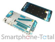 HTC Desire 728G Front Gehäuse Cover f. Display Kleber Rand, weiß