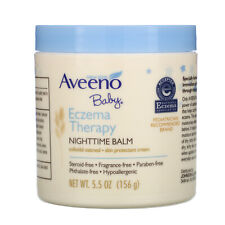 Aveeno, Baby, Eczema Therapy, Nighttime Balm, 5.5 oz (156 g)