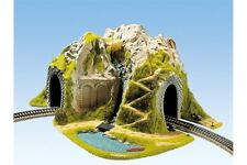 NOCH 05170 HO 1/87 Tunnel d'angle, 1 voie, 41 x 37 cm