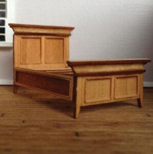 Dollhouse MCM Murrelet Full Bed Kit 1:48 Scale
