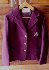 Blazer Veste Vintage Griffé OLD ENGLAND Nice Pur laine Fashion Blazer Vintage