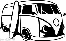 vw camper stickers 1  Funny Car/Window/Van JDM VW VAG EURO Vinyl Decal Sticker