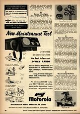 1951 Rogers Majestic Electronics Print Advertisement: Motorola 2 Way Radio FM