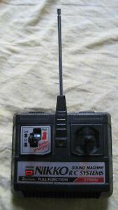 Radiocomando Gig Nikko per Rombo di Tuono anni 90 vintage