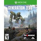 Generation Zero Xbox One [Brand New]