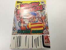 1982 USA Wacky Packages Sticker Album & Complete Sticker Set (Garbage Pail Kids)