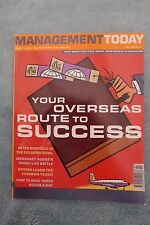 Management Today Magazine: July 2000, Overseas Success, ExCon