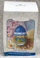 Hallmark Ornament Easter Egg Surprise w/Box 1999 Duck First in Series Porcelain