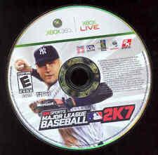 Xbox 360, Major League Baseball 2K7 Video Game, No Case
