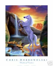 "NEW! Horse 18x24"" Art Print Poster by Dobrowolski"
